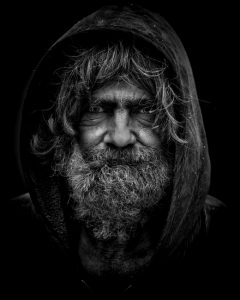Picture of Homeless man