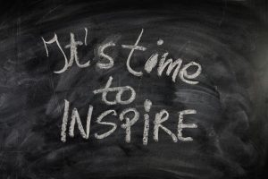 It's time to inspire words