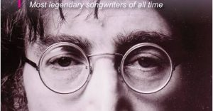 John Lennon on front cover of Write Away magazine