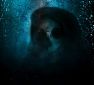 River Reaper skull creature