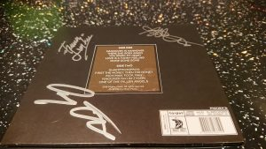 Signed Electric Boys Ghost Ward Diaries album