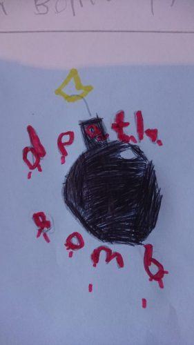 death Bomb band logo