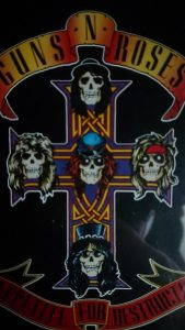 Appetite for Destruction CD album cover