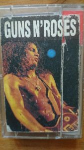 Cassette with Slash from Guns N'Roses as album cover