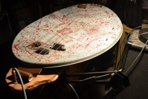 Satellite dish musical instrument
